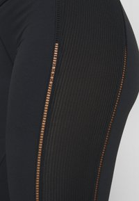 Nike Performance - YOGA LUXE 7/8 - Legging - black/smoke grey - 4