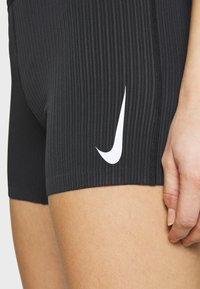 Nike Performance - AEROSWIFT TIGHT - Tights - black/white - 5