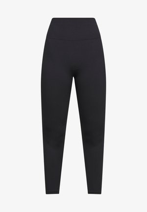 SEAMLESS 7/8 - Leggings - black/smoke grey