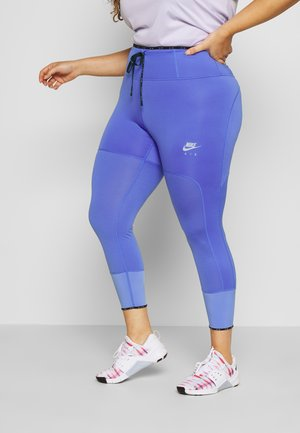 AIR PLUS - Tights - sapphire/reflective silver