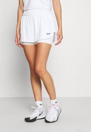 DRY SHORT - Sports shorts - white/black