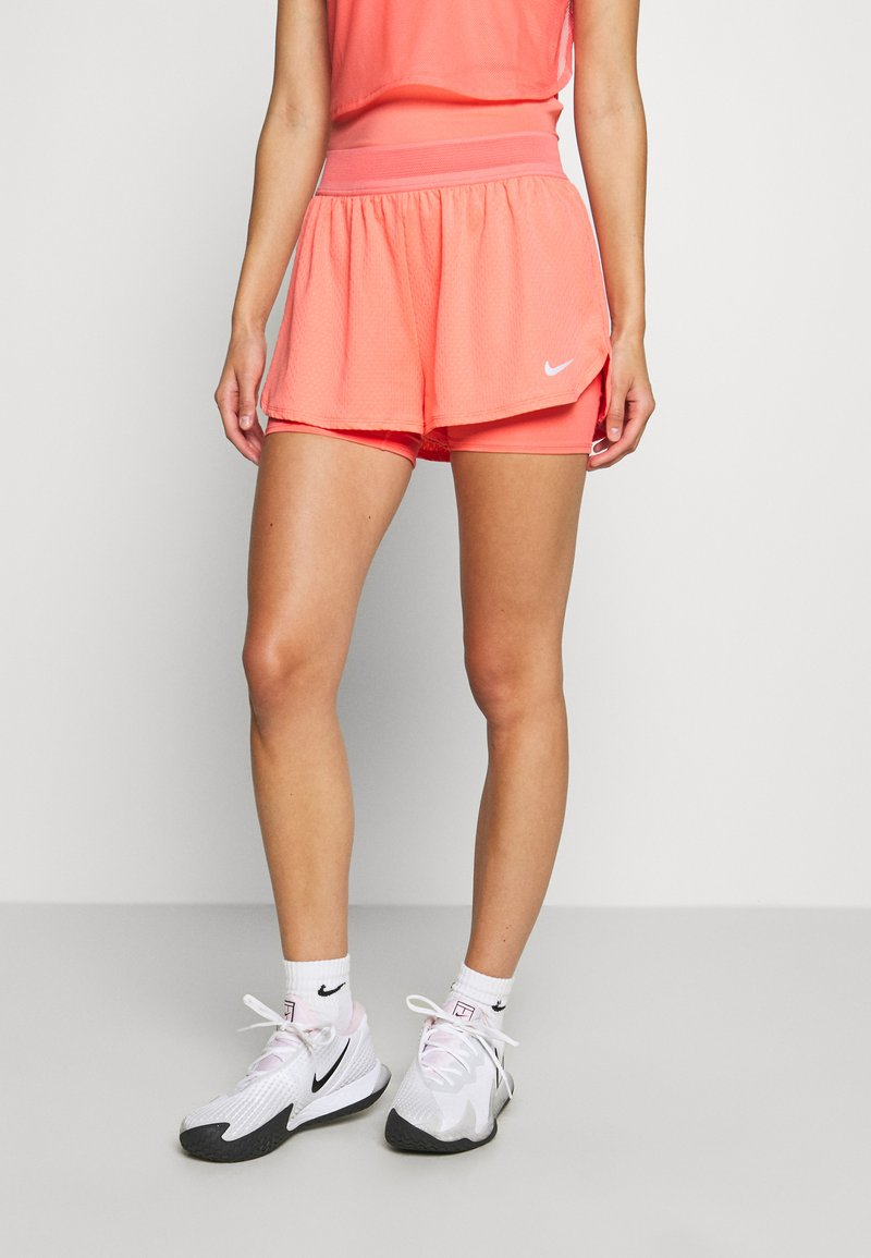 Nike Performance - DRY SHORT - Sports shorts - sunblush/white
