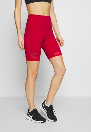 CITY RUN - Legging - university red/reflect black