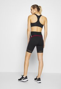 Nike Performance - CITY RUN - Tights - black/university red/white/reflective black - 2