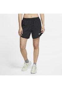 Nike Performance - TEMPO LUX   - Pantalón corto de deporte - black/anthracite/reflective silv - 0