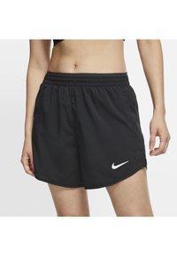 Nike Performance - TEMPO LUX   - Pantalón corto de deporte - black/anthracite/reflective silv - 2