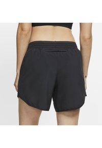 Nike Performance - TEMPO LUX   - Pantalón corto de deporte - black/anthracite/reflective silv - 3