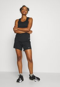 Nike Performance - DRY SHORT - Sports shorts - black/particle grey - 1