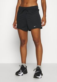 Nike Performance - DRY SHORT - Sports shorts - black/particle grey - 0