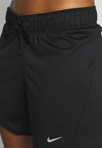 Nike Performance - DRY SHORT - Sports shorts - black/particle grey - 4