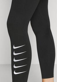 Nike Performance - RUN - Leggings - black/silver - 4