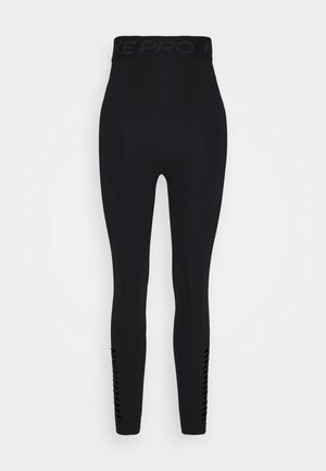 7/8 HI-RISE - Tights - black/dark smoke grey