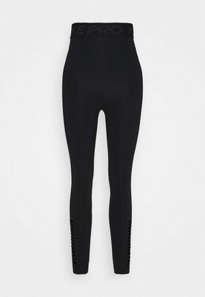 7/8 HI-RISE - Leggings - black/dark smoke grey