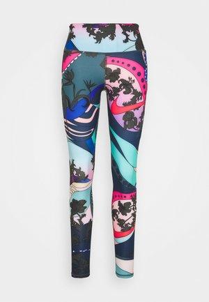 EPIC LUX - Leggings - hyper pink/black/white