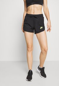 Nike Performance - AIR SHORT - Pantalón corto de deporte - black/volt - 0
