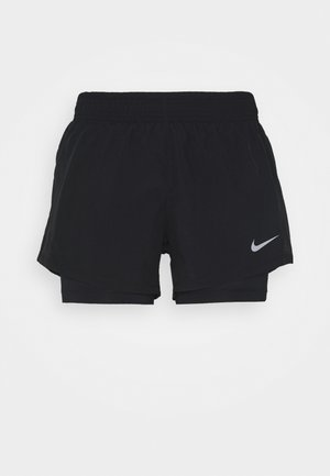 SHORT - Pantalón corto de deporte - black/black/black/wolf grey