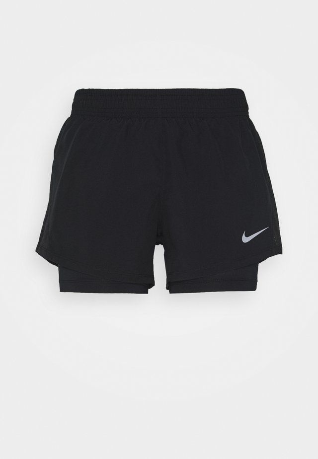 SHORT - Sports shorts - black/black/black/wolf grey