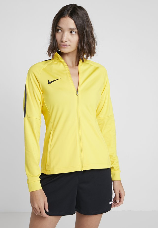 DRY ACADEMY 18 - Träningsjacka - tour yellow/anthracite/black