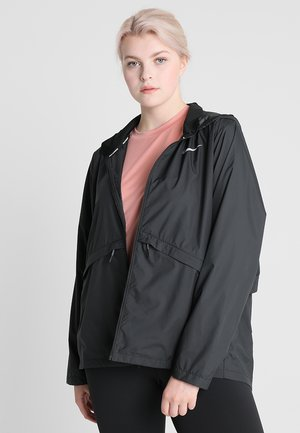 ESSENTIAL EXTENDED - Veste de survêtement - black/reflective silver