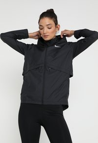 Nike Performance - Sports jacket - black/silver - 0