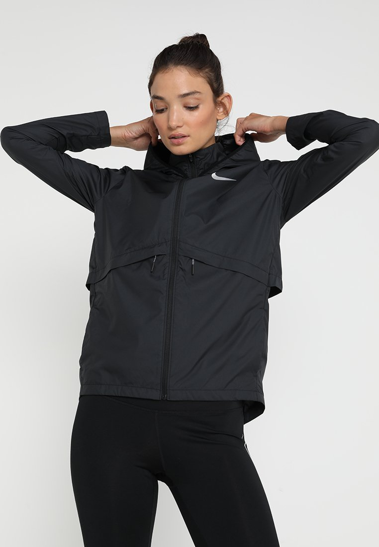 Nike Performance - Sports jacket - black/silver