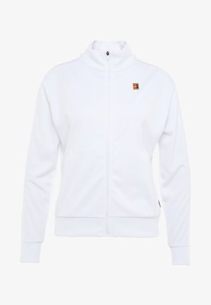 WARM UP JACKET - Verryttelytakki - white