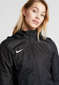 Nike Performance - ACADEMY - Hardshell jacket - black/white