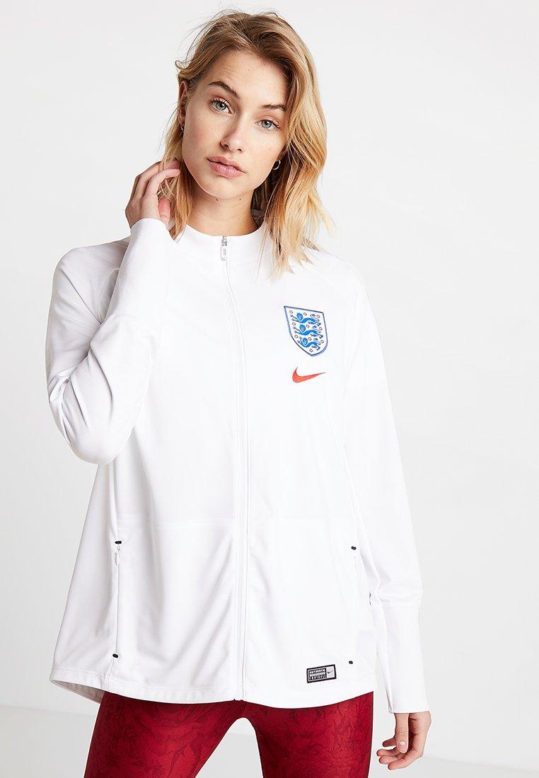 Nike Performance - ENGLAND ANTHEM - Chaqueta de entrenamiento - white/challenge red