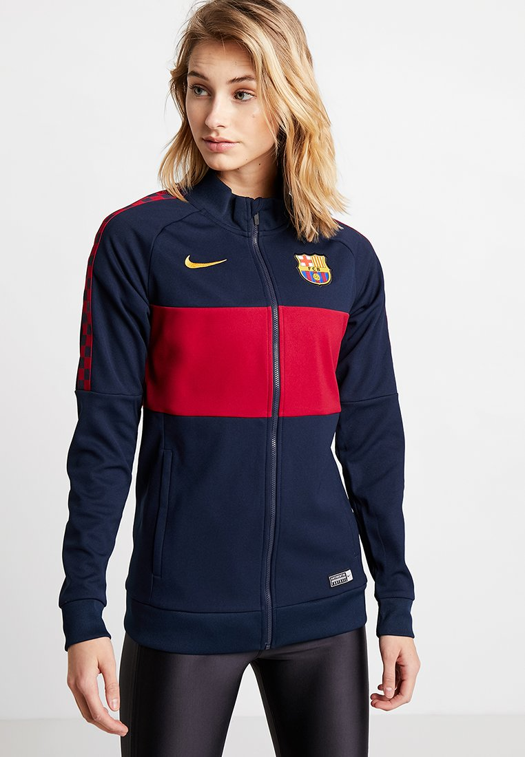 Nike Performance - FC BARCELONA - Trainingsjacke - obsidian/noble red/university gold