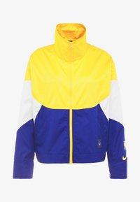 Nike Performance - NBA GOLDEN STATE WARRIORS WOMENS JACKET - Träningsjacka - amarillo/rush blue/white - 6