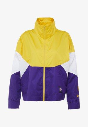NBA LA LAKERS WOMENS JACKET - Treningsjakke - amarillo/field purple/white