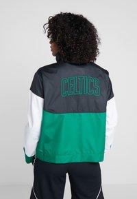 Nike Performance - NBA BOSTON CELTICS WOMENS JACKET - Club wear - black/clover/white - 2