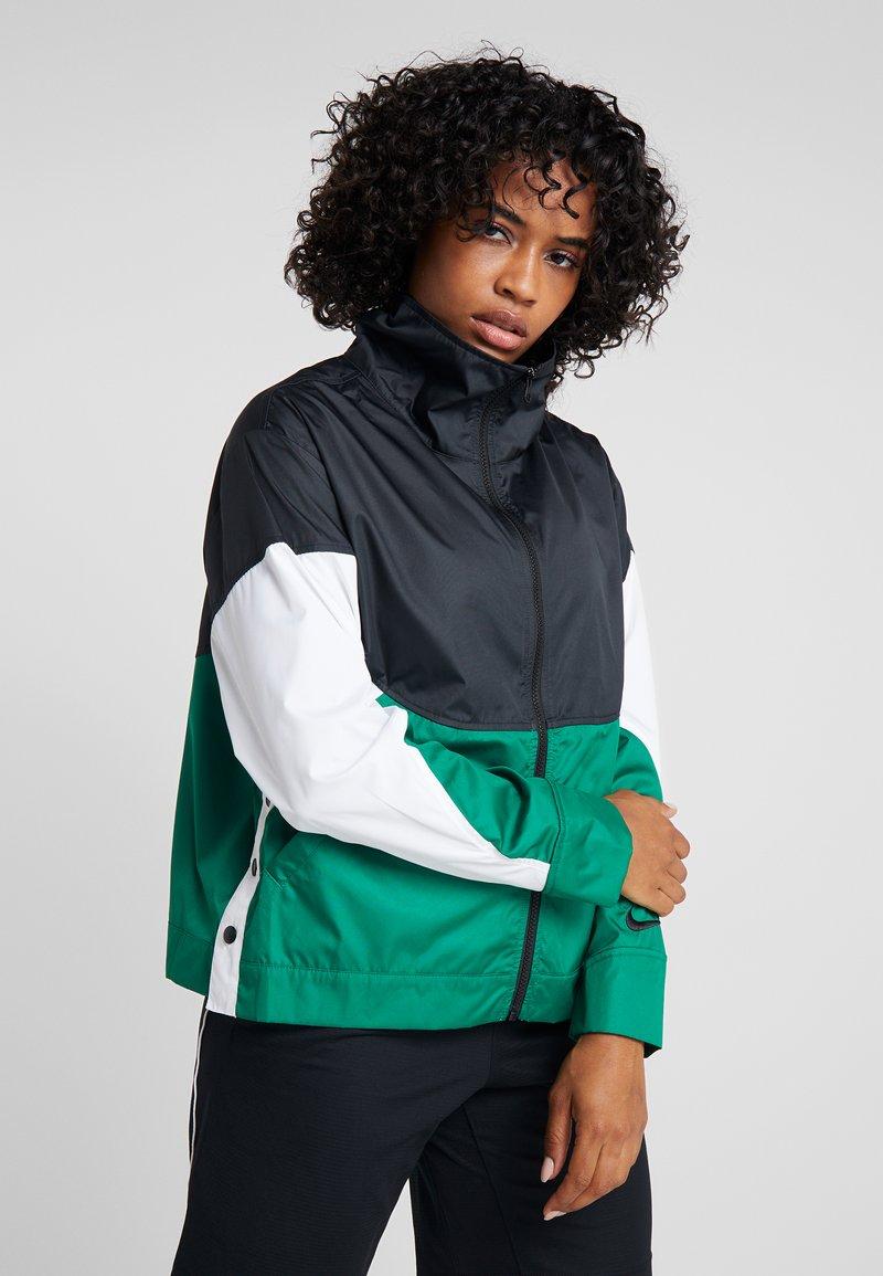 Nike Performance - NBA BOSTON CELTICS WOMENS JACKET - Klubové oblečení - black/clover/white