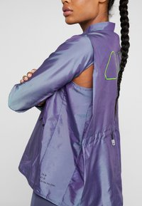 Nike Performance - AIR - Běžecká bunda - voltage purple/light aqua/electric green/black - 5