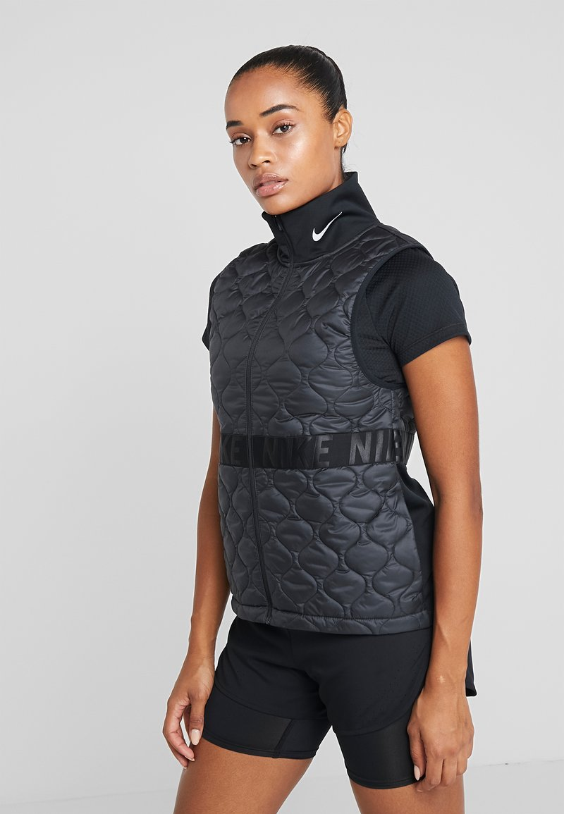 Nike Performance - Veste sans manches - black/reflective silver