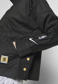 Nike Performance - TORONTO RAPTORS CITY EDITION WOMENS SNAP JACKET - Treningsjakke - black /black /club gold - 4