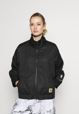 TORONTO RAPTORS CITY EDITION WOMENS SNAP JACKET - Trainingsvest - black /black /club gold