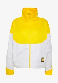 Nike Performance - NBA LOS ANGELES LAKERS CITY EDITION WOMENS SNAP JACKET - Klubbklær - amarillo/white - 4