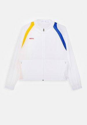 Training jacket - white/university red