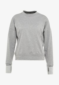 Nike Performance - THERMASPHERE CREW 2.0 - Sweatshirts - gunsmoke/heather/silver - 6