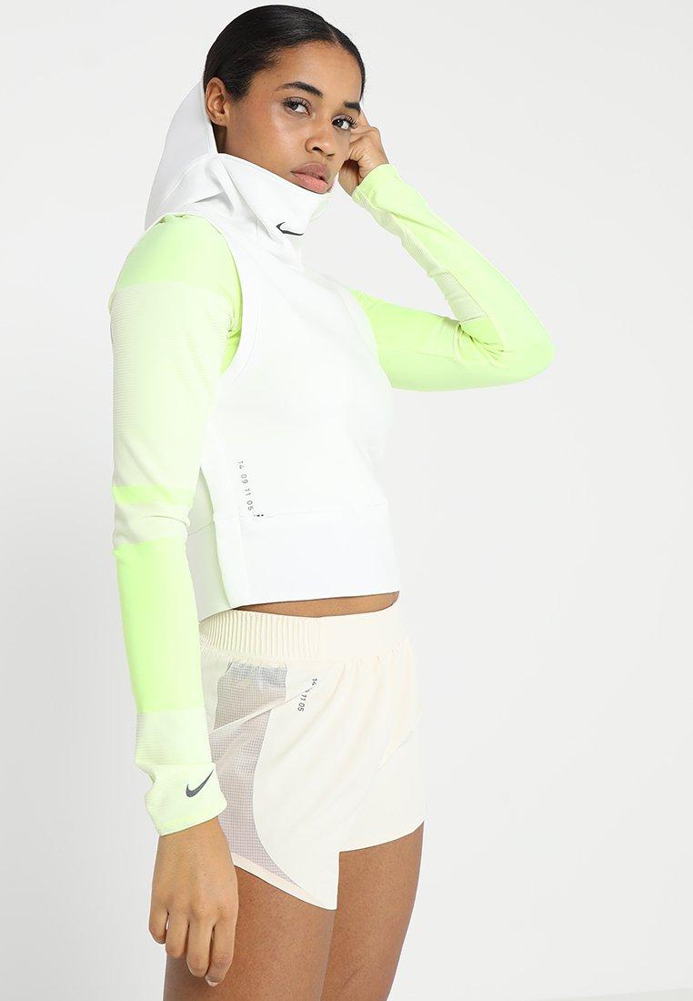 Nike Performance - TECH PACK SLEVELESS VEST HOODED - Felpa con cappuccio - summit white/reflective black