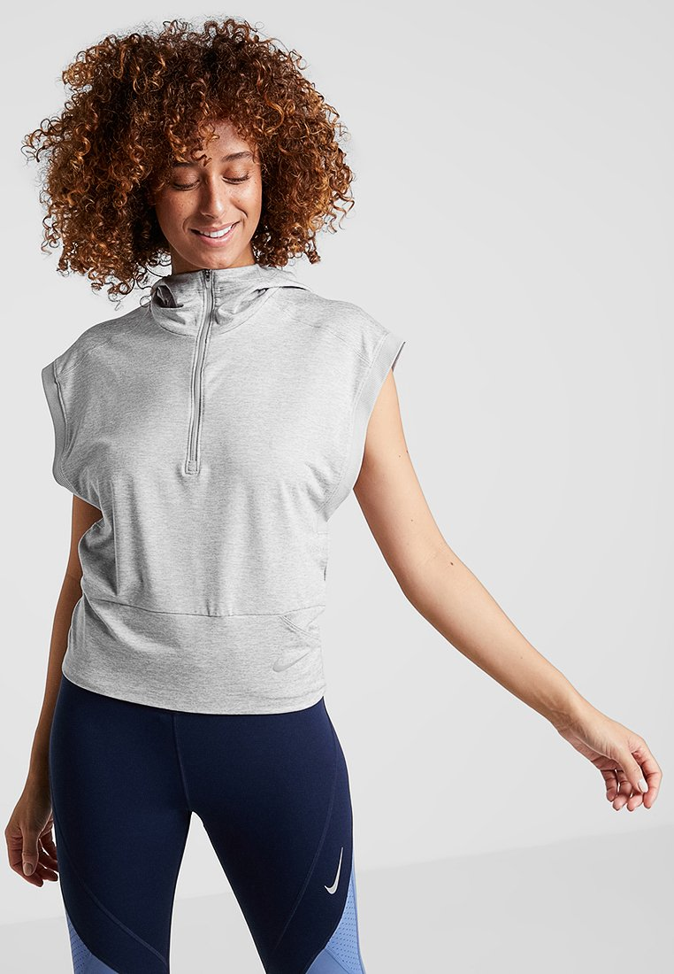 Nike Performance - SURF - T-Shirt print - atmosphere grey