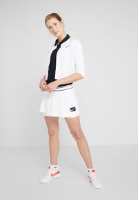 Nike Performance - Zip-up hoodie - white/black - 1