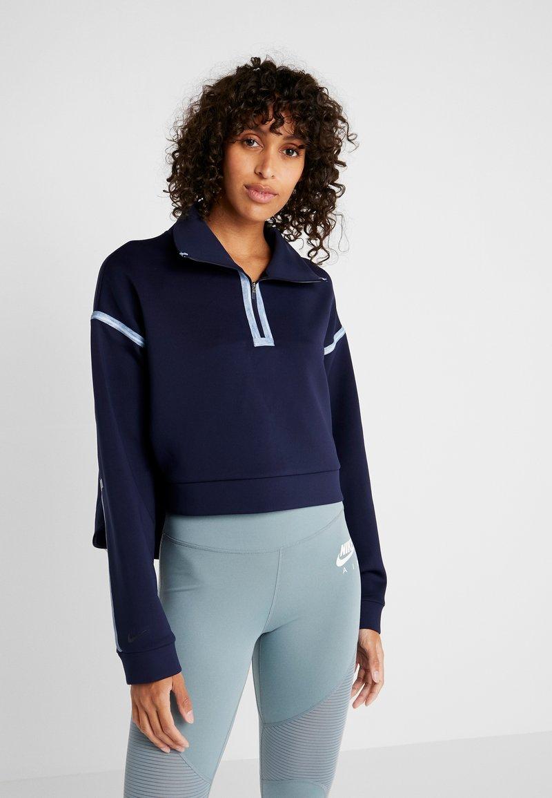 Nike Performance - CITY  - Sweatshirt - blackened blue/coastal blue