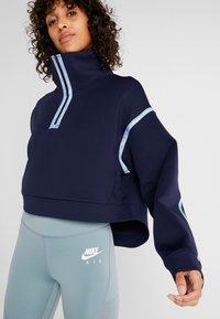 Nike Performance - CITY  - Sweatshirt - blackened blue/coastal blue - 3