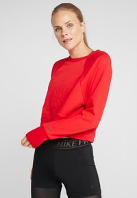Nike Performance - DRY GET FIT LUX - Sweater - university red - 0