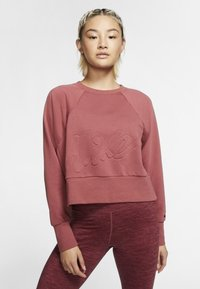 Nike Performance - DRY GET FIT LUX - Sweater - dark red - 0
