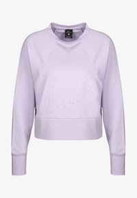 Nike Performance - DRY GET FIT LUX - Sweater - lavender mist/white - 0
