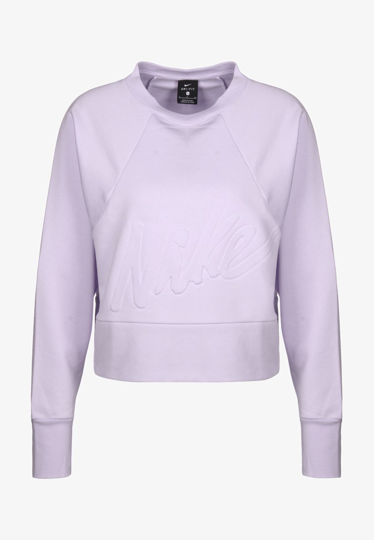 Nike Performance - DRY GET FIT LUX - Sweater - lavender mist/white