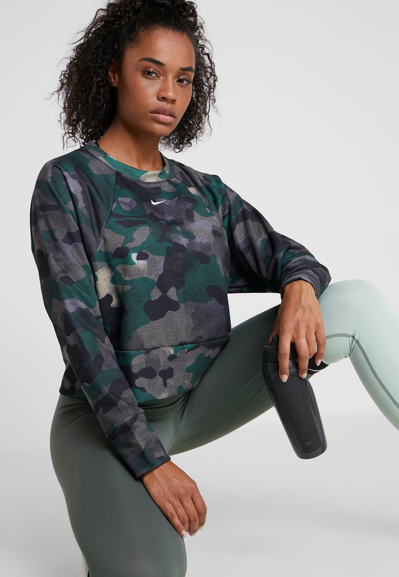 Nike Performance - REBEL ALL IN - Sweatshirt - dark green